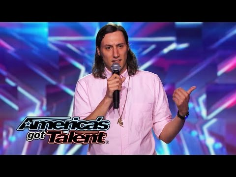 Darik Santos: Stand-up Comic Proves He's Not a Loser - America's Got Talent 2014