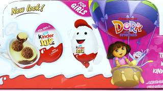 Kinder joy DORA AND FRIENDS Edition Surprise Eggs for girls Unboxing 2
