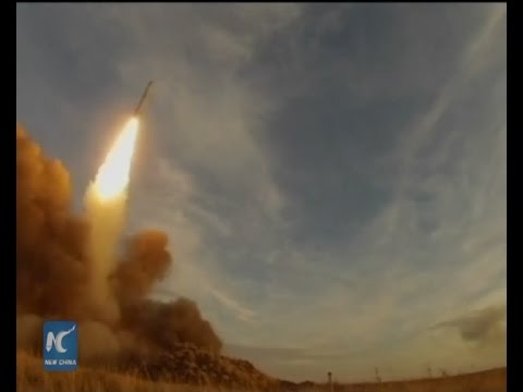 RAW: 'Iskander' ballistic missile system tests accuracy at Russia's Centre-2015 drills