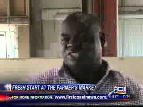 Fresh vegetables & fresh start for Farmer's Market merchant