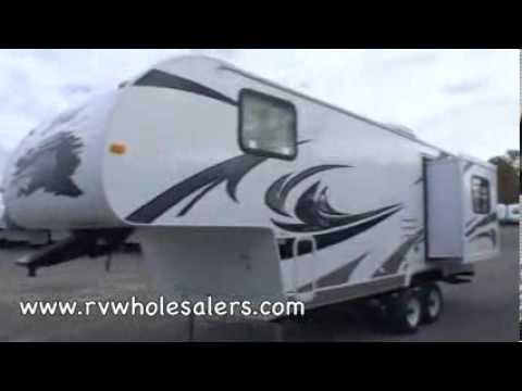 2011 Nomad 214 Fifth Wheel Camper at RVWholesalers.com 000931 - Honey Amber