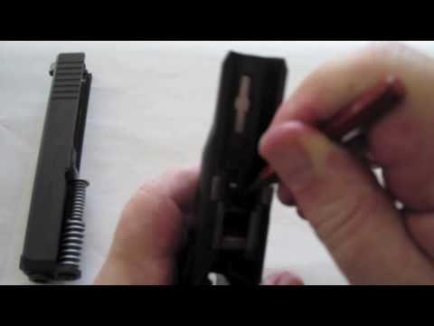 Glock 26 9mm Extended Slide Lock Installation