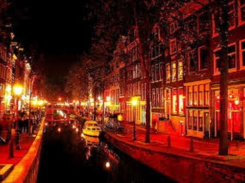 The Red Light district – Amsterdam