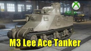Xbox One WOT - M3 Lee Mastery Medal Tactics + Gameplay