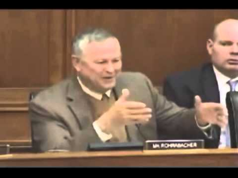 """Get our butts out of that country!"" - Dana Rohrabacher"