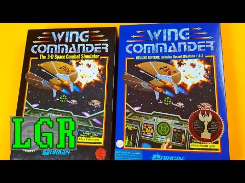 LGR - Wing Commander - DOS PC Game Review