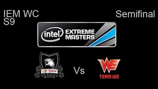 GE Tigers vs Team WE IEM Katowice WC 2nd Semi Final Game 1 Highlights
