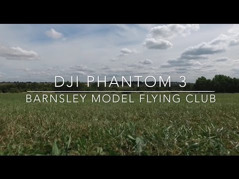 DJI PHantom 3 maiden at Barnsley model flying club