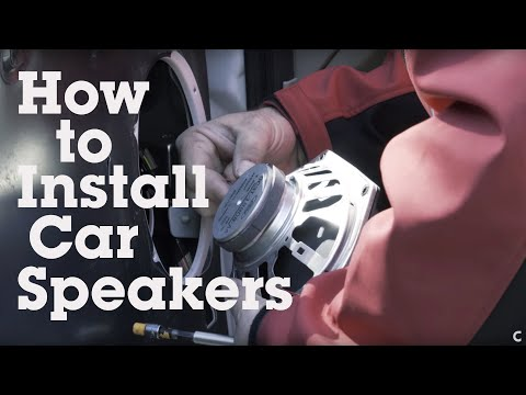 How To Install Car Speakers (Coaxial)   Crutchfield Video