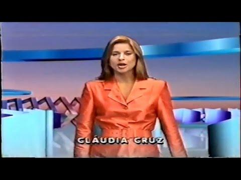 Cláudia Cruz na Retrospectiva 1996 da Globo