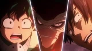 HD Midoriya, Todoroki and Iida vs Hero Killer Stain Full Fight HD Boku no Hero Academia