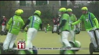 UK Hosts First International Segway Polo Tourney