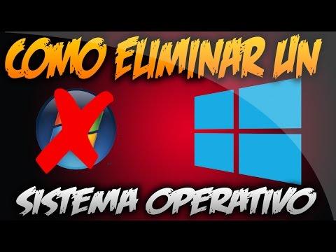 Como Eliminar Un Sistema Operativo (Si Tengo Otro) en Windows 8, 8.1