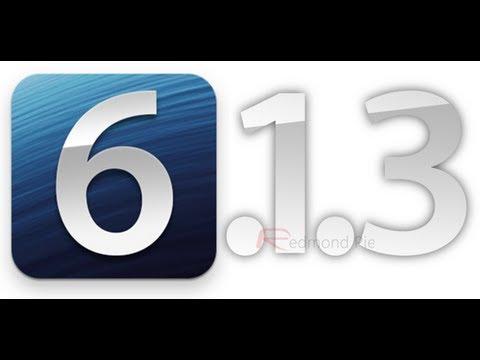 Pod2G: NO JAILBREAK PARA iOS 6.1.3 (Futuro iOS 7 Brillante)