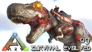 ARK: SURVIVAL EVOLVED - ZOMBIE TREX & QUETZAL E09 !!! ( PUGNACIA PARADOS )