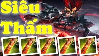 Liên Quân Mobile: Troll game cùng Lữ Bố lên Full Quỷ Kiếm - Hút máu hơn cả Kotex. :)