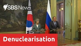 Russia is pushing for new Korean peace talks to take place
