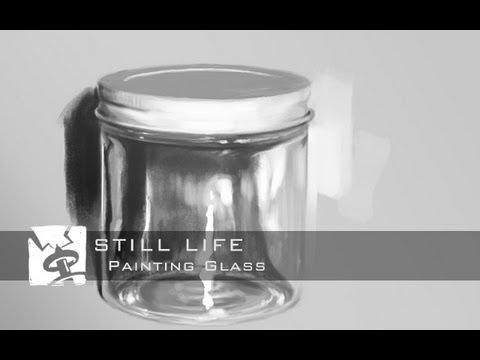 Still Life - Painting Glass