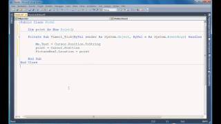 Visual Basic 10 How to move a Picturebox with Mouse