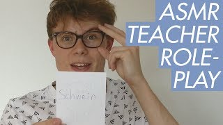 ASMR - Learn German With Me - Teacher Role Play