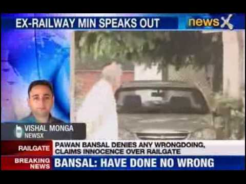 Pawan Kumar Bansal: Defends himself, Denies CBI claims