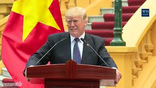 President Trump CONFUSING answer on Putin & Russia