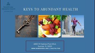 Health Week 2020 - Night 1