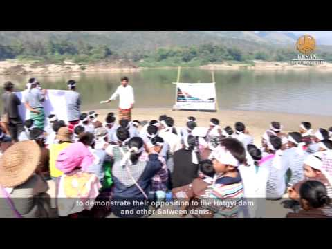 No Salween Dams: Karen Message on International Day of Action for Rivers and Against Dams, 2015