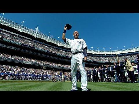 KC@NYY: Yankees honor the Captain on Derek Jeter Day