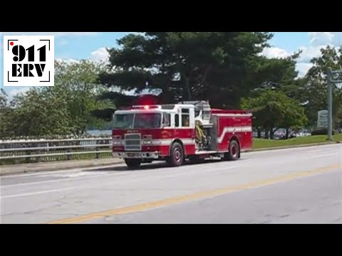 Meredith, NH Engine 1 Responding