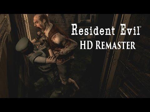 Resident Evil Remaster HD - Jill Valentine Gameplay (PS4)