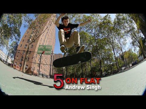 Andrew Singh 5 on Flat