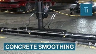 This Concrete-Smoothing Machine Is So Satisfying To Watch