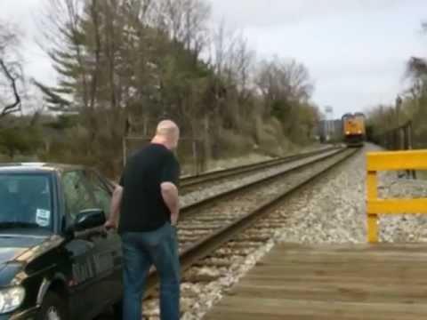 Cómo evitar ser arrollado por un tren