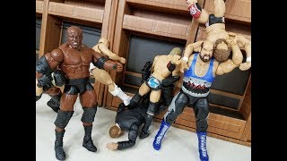 NEW UNRELEASED TOYS R US EXCLUSIVE ELITE, CUSTOM BOBBY LASHLEY + MORE WWE FIGURES