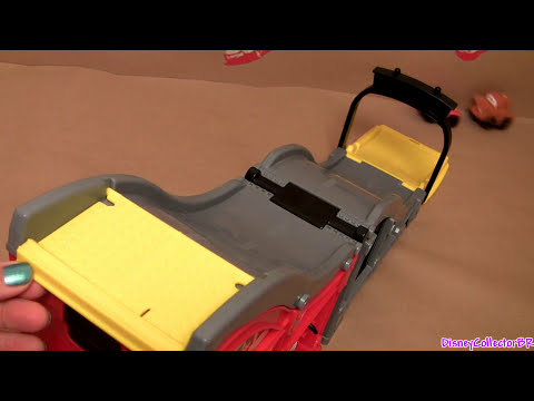 Wheelies Cars 2 Playset Speed and Sounds Race Track Ramp Disney Pixar Lightning Mcqueen, Mater
