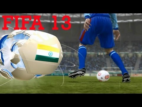FIFA 13 India v/s Brazil | Gameplay | The Hindi Gamer