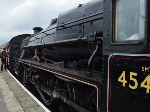 The East Lancashire Railway, Steam Weekend. 23/2/13