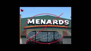 HIDE AND SEEK IN MENARD'S!!