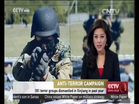 181 terror groups dismantled in Xinjiang in past year
