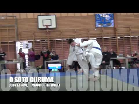 O SOTO GURUMA Judo Major Outer Wheel throw Image 1