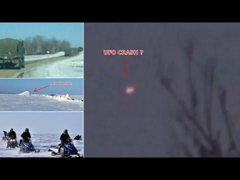 UFO Crash Filmed in Manitoba CANADA by Witness!