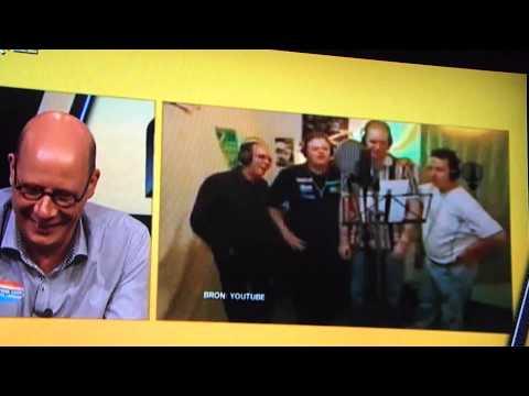 Koert Westerman gaat stuk tijdens uitzending RTL7darts