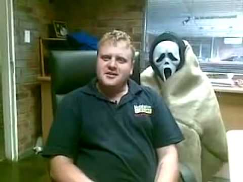 Scream Mask Prank.