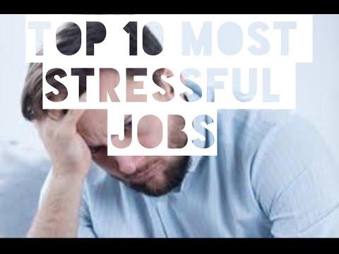 Top 10 Most Stressful Jobs #1