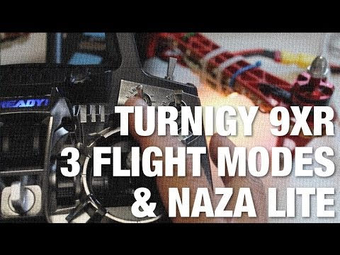 Turnigy 9XR 3 Position Switch for Different Flight Modes w/ NAZA Lite and TBS Discovery Quadcopter
