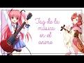 TAG: Música en el Anime