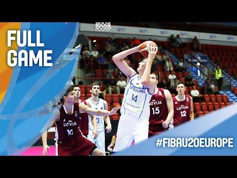 Ukraine v Latvia - Full Game - FIBA U20 European Championship 2016