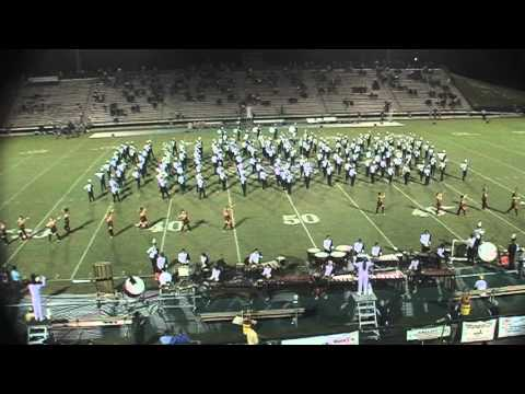 Orlando's Dr. Phillips High School Marching Band 2012
