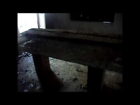 Sala de autopsias en el cementerio de Las Casas del Conde.